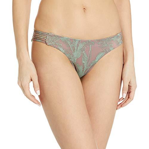 RVCA Damen Palmer Cheeky Reversible Bikini Bottom Bikinihose, Raisin, X-Large