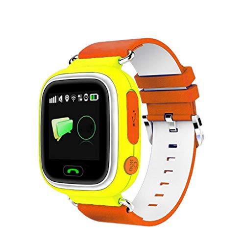QWERASD 4G Smart-horloges voor kinderen, GPS-tracker, lange stand-by screen-tweewegs-oproep, SOS One klik op hulp voor kinderen, verjaardagscadeau