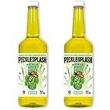 PickleSplash - Pickle Juice, Sports Hydration for Muscle Cramps, Cocktail Mixer, 32 oz Per Bottle (2 Pack)