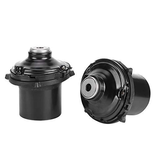 Qqmora Rodamientos de Soporte modificados Soportes amortiguadores de Repuesto Antifricción 2 Piezas Superior para su vehículo
