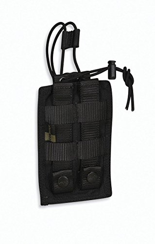 Tasmanian Tiger TT Tac Pouch 3 Radio Sacoche Radio; Compatible Molle ; 16 x 11 x 2 cm, Noir