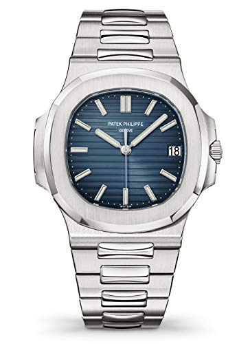 Patek Philippe 5711/1A-010 Automatic Black-Blue Dial Luxury Men's Watch