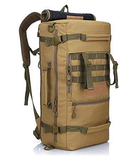 GEETAC Zaino da 50L Outdoor Campeggio Daypack Borsa a tracolla da uomo Zaino da trekking
