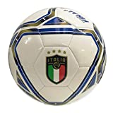 Puma FIGC Training 6 MS Ball Pallone, Adulti Unisex, Bright White-Team Power Blue-Peacoat ...