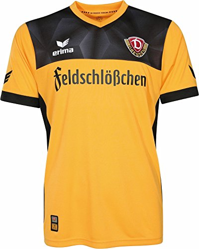 Erima Herren SG Dynamo Dresden Trikot Home 2017/2018 Heimtrikot, gelb, 152