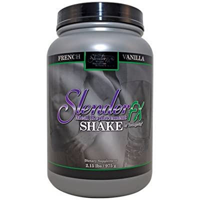 Slender Fx Meal Replacement Shake - French Vanilla - 2.15 lbs. - 3 Pack