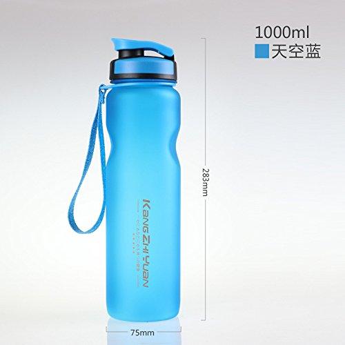 ◆ 100% materiales no tóxicos de calidad alimentaria, respetuosos con el medio ambiente, seguros para beber. ◆ Botella de plástico reutilizable respetuosa con el medio ambiente, cubierta de material de PP de calidad alimentaria, anillo de sello de sil...