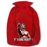 Mznk6428adnx Unisex Bloodsport Movie Chun Li Quote Christmas Bag One Size