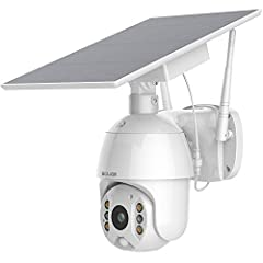 S600 Security cameras can turn its head 320 degree horizontally and 90 degree vertically pan and tilt,clear two-way audio and 3X digital Zoom(No optical zoom),which provide you much broader and flexible view of cameras for home security The security ...