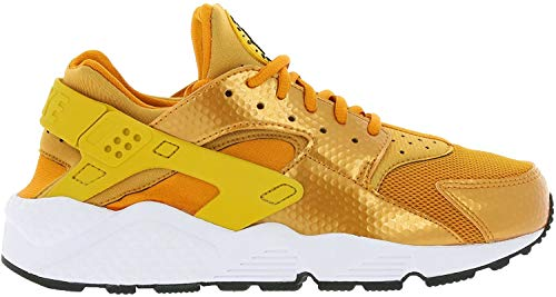 Nike Women's Air Huarache Run Running Shoe Sunset/Gold Dart/White/Black 6.5