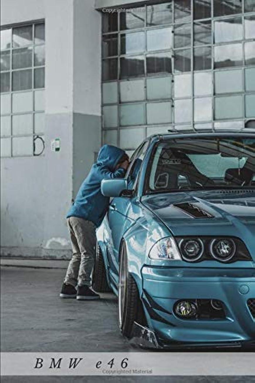 支援七面鳥スクラップBMW e46: Car Notebook for Drawing and Writing, Journal, Diary (110 Page, Blank, 6 x 9 inch, 15.24 x 22.86 cm) (Cars)