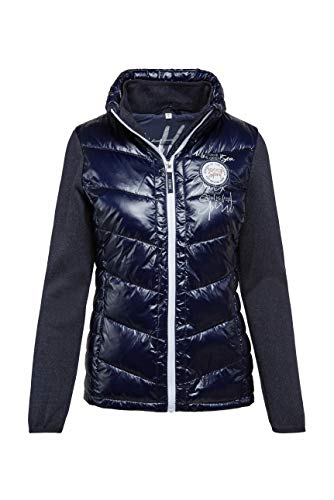 SOCCX Damen Outdoorjacke im Materialmix