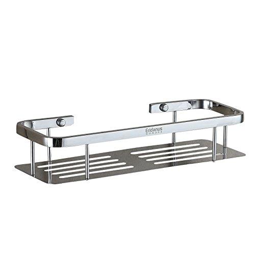 ERIDANUS Edelstahl Dusche Ablage, Dusche Korb für Badezimmer