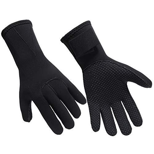 Gyratedream Damen Herren Schwimmhandschuhe Neopren Anti-Rutsch-Handschuhe für warme Neoprenanzüge Schwimmen Schnorcheln Surfen Handschuhe für alle Wasseraktivitäten