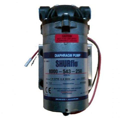 Groupe à pompe électrique à membrane SHURFLO 12V - 4 bar