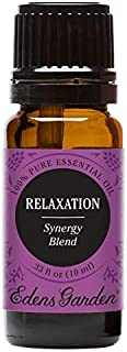 Edens Garden Relaxation Essential Oil Synergy Blend, 100% Pure Therapeutic Grade (Highest Quality Aromatherapy Oils- Anxiety & Stress), 10 ml