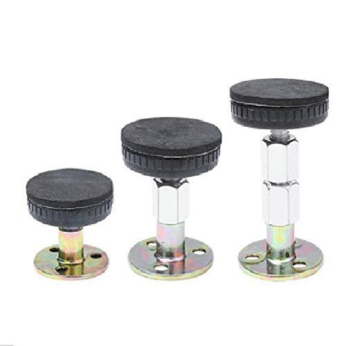 TTCPUYSA Marco de Cama con Rosca Ajustable Herramienta Anti-vibración para cabeceras de Cama Evita Que se afloje Fijador Anti-vibración 2 Piezas (67-87 mm)