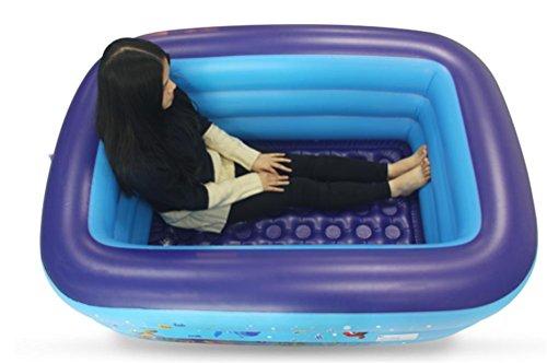 FACAI888 Grosse maison chaude Adulte pliante gonflable baignoire baignoire baril/bain d'enfant/plastique bouchon de douche hotte domestique
