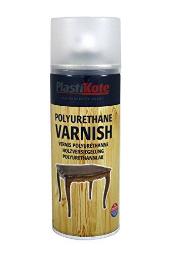 Plasti-Kote Polyurethane Clear Satin Varnish Sp