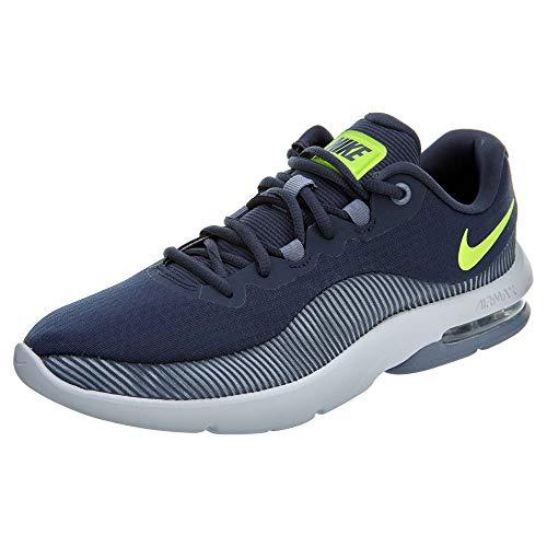 Nike Air Max Advantage 2 Mens Running Trainers AA7396 Sneakers Shoes (UK 9 US 10 EU 44, Thunder Blue Volt 400)