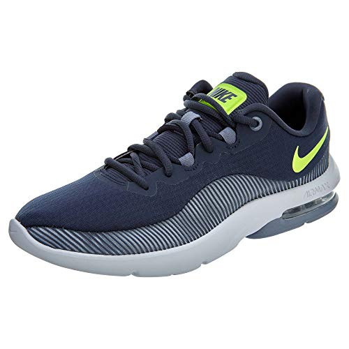 Nike Air Max Advantage 2 Mens Running Trainers AA7396 Sneakers Shoes (UK 10 US 11 EU 45, Thunder Blue Volt 400)