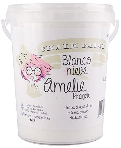 Amelie Prager 1000-01 Pintura al agua, Blanco Nieve, 1 l