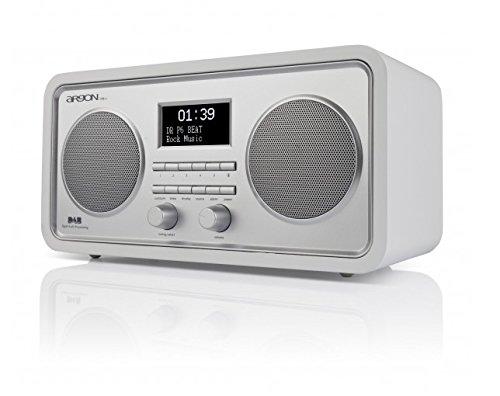 Argon DAB+UKW Radio DAB3+ V5 Weiss/Silber