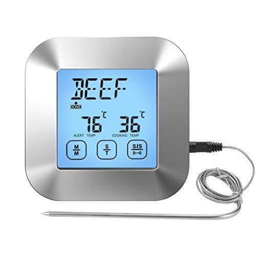 Yihaifu Barbecue Termometro Digitale Elettrico del termometro di Cottura Stretchable termometro Portatile Elettrico Kitchen Timer Probe