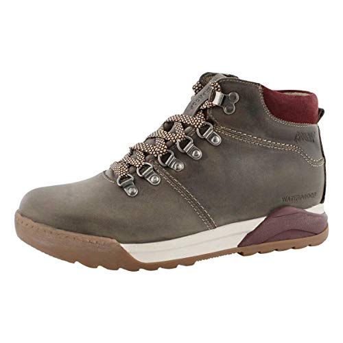 COUGAR Women's Swerve Lace Up Waterproof Ankle Boot Taupe 9 Medium US