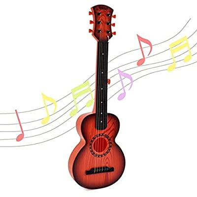 Amazon - Save 52%: Happytime 26 Inch Kids Emulational Guitar Musical Toys Guitar with 6 Strings…