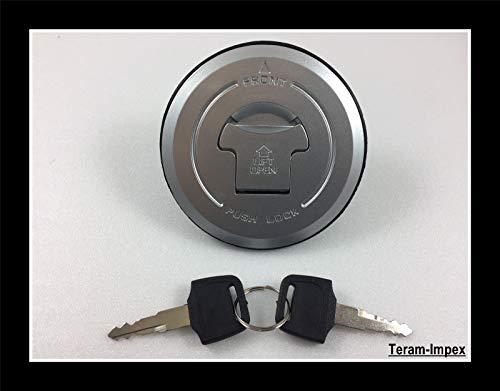 TERAM LOISIRS - Tapón de trinquete de gasolina con llave para depósito de moto Honda CBR 600 Hornet CBF NSR
