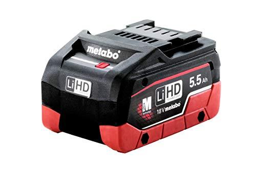 Metabo 625368000 Akkupack LiHD 18 V-5,5 Ah