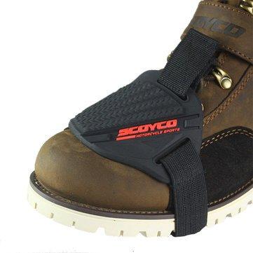 JenNiFer Gummi Motorradschuhe Stiefel Abdeckung Schutz Getriebe Schalt Socke - #2
