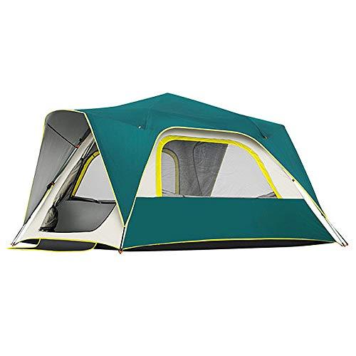 Camping Zelt Explorer Zelt Outdoor Reise Strandzelt Meer Sonnenschutz Zelt Automatische Geschwindigkeitsöffnung Verdickung Regenschutz 3-4 Personen Zelt 215X215x142 cm