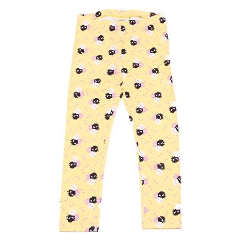 Fendi 9337R Leggings Bimba MOSTRI Splash Giallo Pantalone Pant Kid [4 Years]
