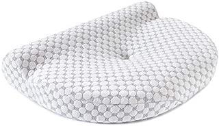 Kinga 枕 ネックフィットまくら ストレートネック矯正枕 人間工学設計 いびき防止 低反発 マクラ 頚椎サポート 洗えるカバー