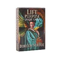 Life purpose EGuideブック付きの完全英語版のライフパーパスオラクルカードデッキタロットカードゲーム運命を告げる運命予測DivinationGame