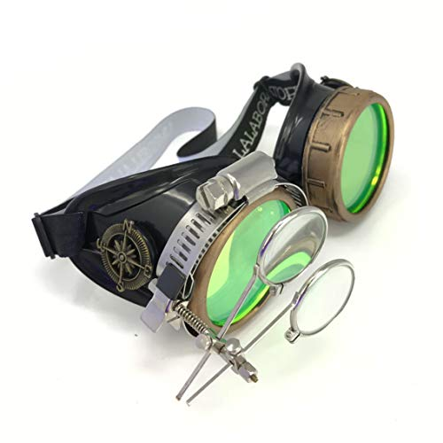 Steampunk Victorian Style Goggle...