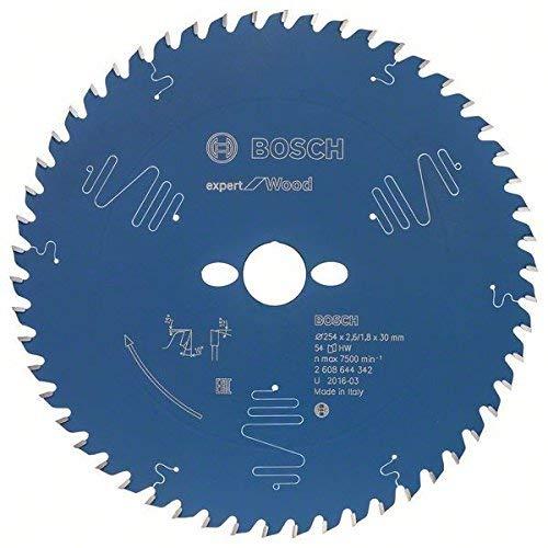 Bosch 2608644342 Kreissägeblatt EX WO T 254x30mm mit 54 Zähnen
