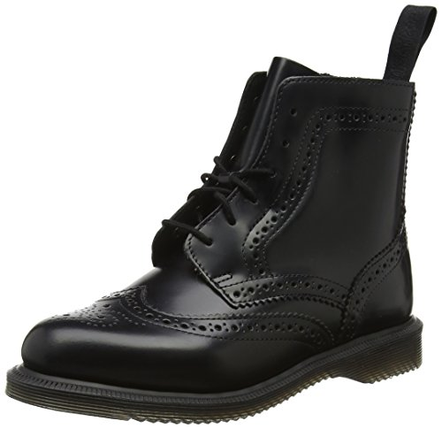 Dr. Martens Damen Delphine Polished Smooth Stiefel, Schwarz (Black), 38 EU