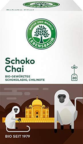 Lebensbaum Bio Gewürzteemischung Schoko und Chai, 3er Pack (3 x 40 g)