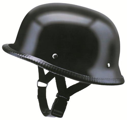 Casque à demi-casque de moto rK 300 redbike en fibre de verre noir mat taille s à xXL