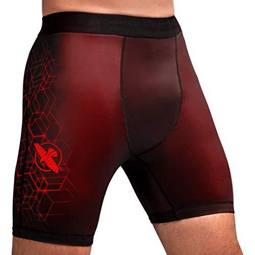 Hayabusa Geo Vale Tudo Shorts Men - Red, Small