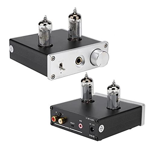 Mxzzand Fuente de alimentación Independiente Tubo electrónico reemplazable Auriculares de 3,5 amperios Funcionamiento Estable Diseño de pequeña(U.S. regulations)