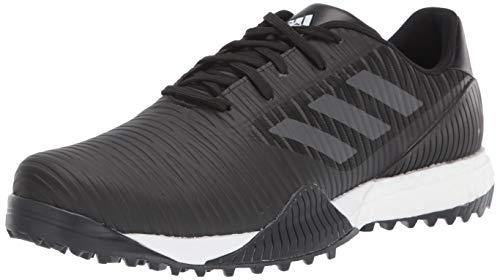 adidas Herren CODECHAOS Sport Golfschuh, Core Black/Dark Solid Grey/Glory Blue, 43 1/3 EU