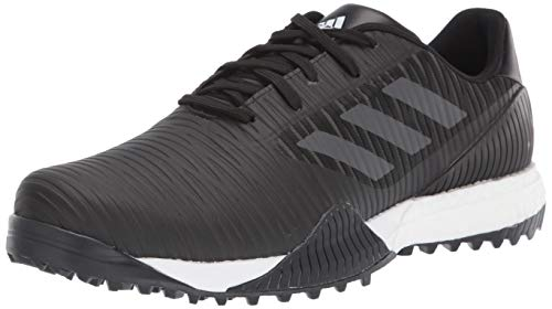 adidas Herren Codechaos Sport Golfschuh, Schwarz (Core Black/Dark Solid Grey/Glory Blue), 49 EU