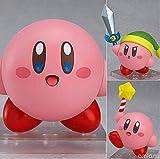 HYHSM Land Kirby Nendoroid 544 Juego Anime Figura de acción Coleccionable PVC Cambio de Cara muñeca Juguetes con Caja