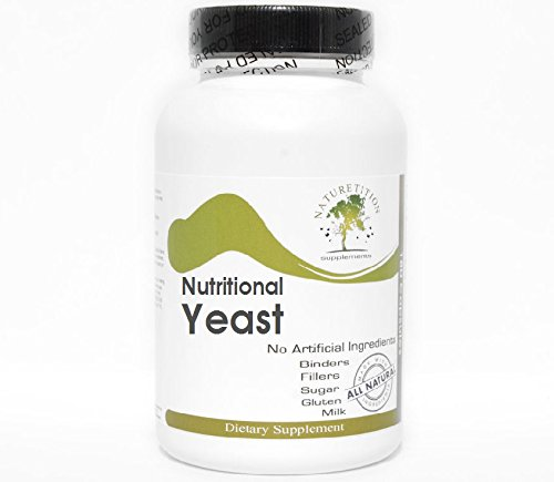 Nutritional Yeast - B Vitamins ~ 200 Capsules - No Additives ~ Naturetition Supplements