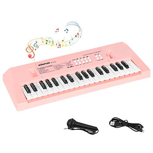 sanlinkee Kids Piano Keyboard,37 Keys Keyboard Electronic for Kids Music Keyboard with...