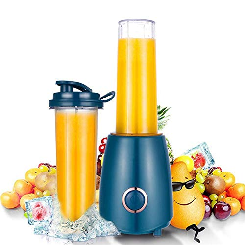 Portable Mini Electric Juicer Small-Scale Domestic Fruit Juice Processor Extractor Blender Smoothie Maker KJ-JF302,EU